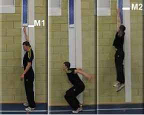 Vertical Jump Test Measurement 1