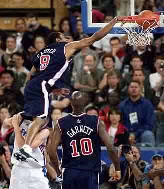 Vince Carter Vertical Leap